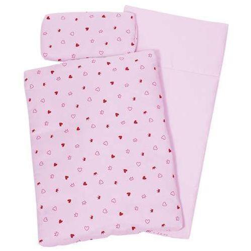 Pościel dla lalek - różowa kołderka