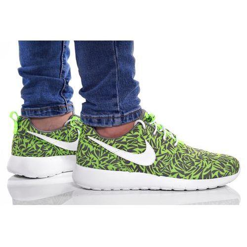 bfcedfdc31a91 Damskie obuwie sportowe · BUTY NIKE ROSHE ONE PRINT (GS) 677782-009, kolor  zielony