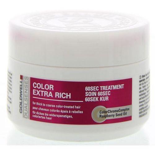 Goldwell Dualsenses Color Extra Rich 60 Sec Treatment 200ml W Maska do włosów (4021609055495)
