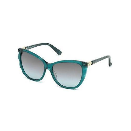 Okulary słoneczne sk 0117 96f marki Swarovski