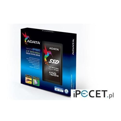 Dysk ssd  premier pro sp920 128gb 2.5'' sata3 (540/160 mb/s) 7mm marki Adata