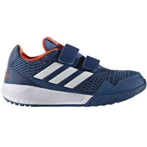 Adidas  performance altarun obuwie do biegania treningowe core blue/white/mystery blue