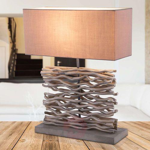Globo jamie lampa stołowa siwy, 1-punktowy - - obszar wewnętrzny - jamie - czas dostawy: od 4-8 dni roboczych