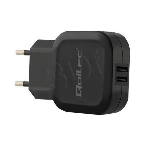 Ładowarka Qoltec 50186 (3400 mA; 17W; USB)