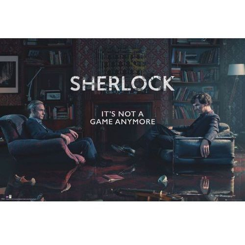 Gb Sherlock its not a game anymore - plakat (5028486376391)