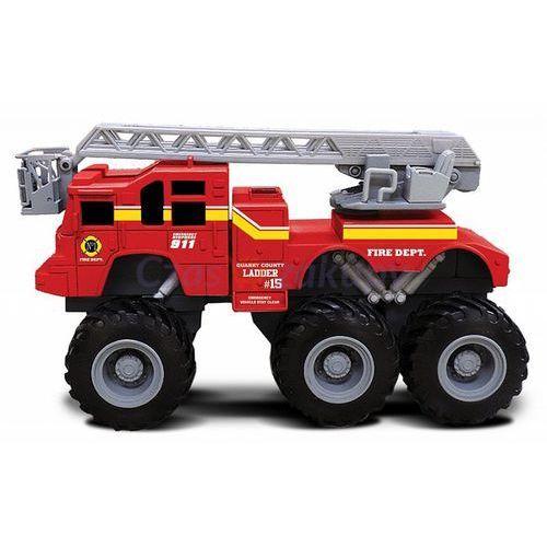quarry monsters wóz strażacki z drabiną marki Maisto