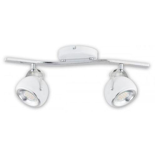 Flavio led lampa sufitowa (spot) 2-punktowa biała o2402 p2 bia marki Lemir
