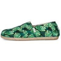 PAEZ espadryle męskie Classic Green Palms 44 zielone