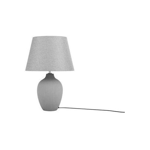 Lampka stołowa szara FERGUS