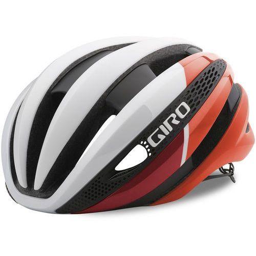 Giro synthe kask rowerowy czerwony/biały s | 51-55cm 2018 kaski rowerowe