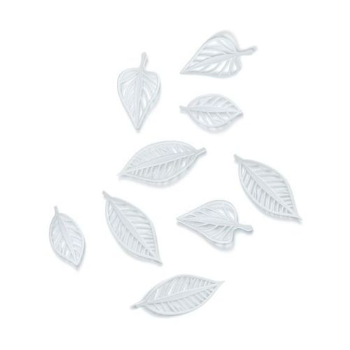 Umbra - dekoracja ścienna - natura - 9 szt. - biała
