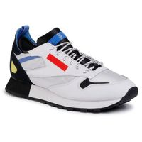 Buty - cl leather reedux fv3206 white/black/blubla, Reebok, 37.5-45.5