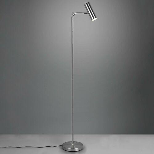 Trio Marley 412400107 lampa stojąca podłogowa 1x35W GU10 nikiel, kolor Nikiel