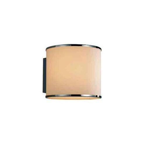 Orlicki design Kinkiet lampa ścienna fato i szklana oprawa tuba biała