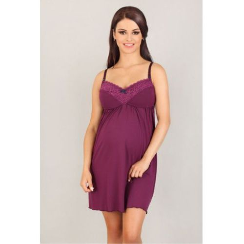 Koszula nocna model 3005 violet, Lupoline
