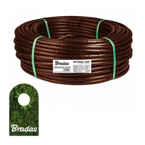 Linia kroplująca 16mm 100m WATERMIL DRIP BROWN BRADAS 5526 (5907544425526)
