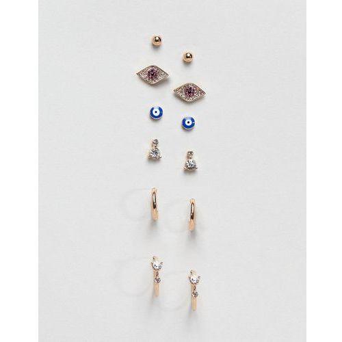 multipack charm earrings - gold marki Aldo