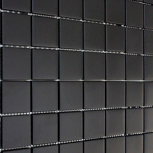 Mozaika Szklana Czarna Mat Exclusive Design 8mm S98