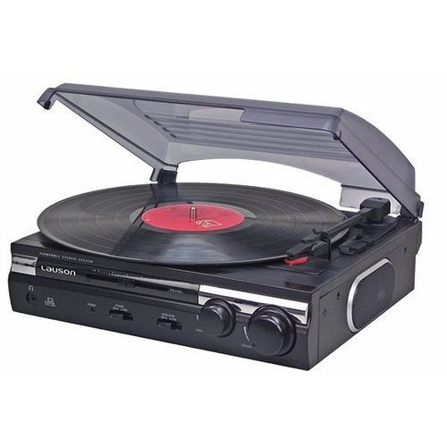Gramofon LAUSON CL 145 Czarny + DARMOWY TRANSPORT! (8422926059542)
