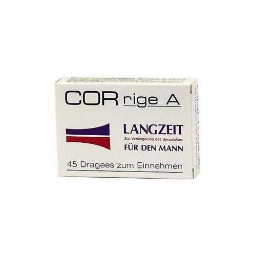 Corrige A 45 kaps. - wydłuża długość stosunku z kategorii Opóźnianie wytrysku