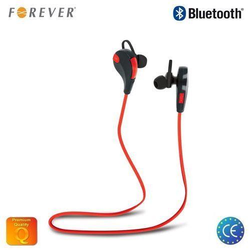 Słuchawki Forever BSH-100, Czerwono-czarny Darmowy odbiór w 21 miastach!
