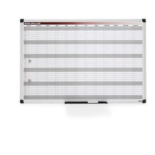 Aj produkty Tablica planu rocznego, magnetyczna, 900x600 mm