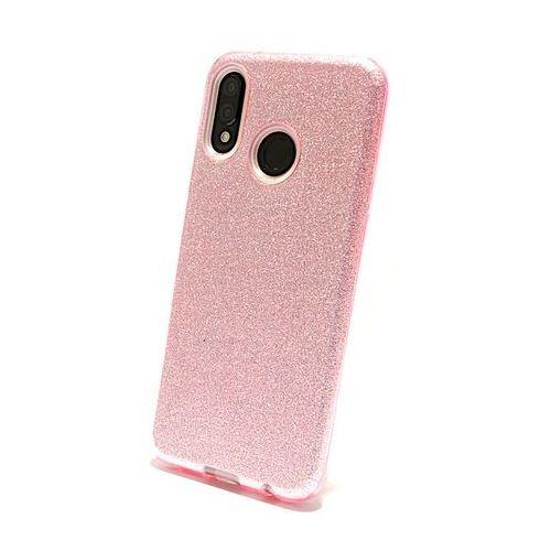 Silokonowe Etui Huawei P20 Lite Shining różowy, kolor różowy
