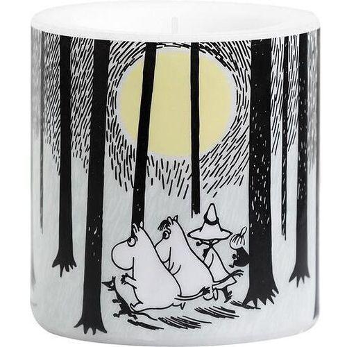 Muurla Świeca muminki in the woods mała