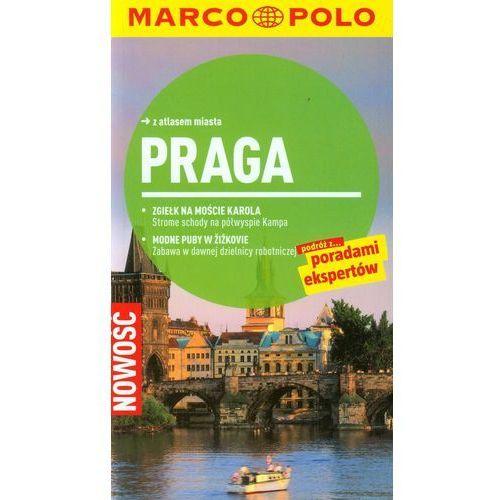Praga Przewodnik z atlasem miasta, oprawa broszurowa