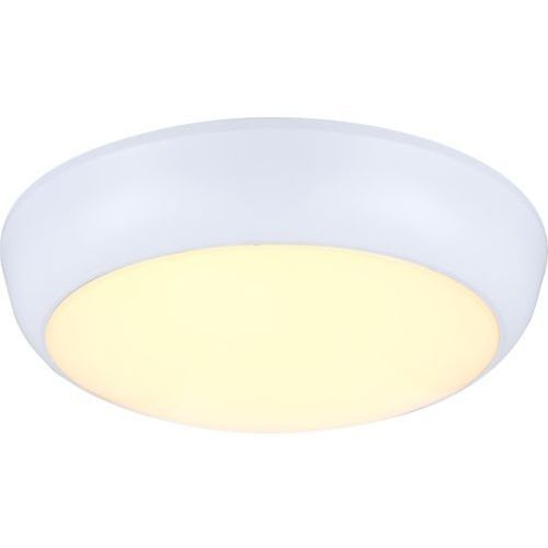 Plafon lampa sufitowa john 32116  metalowa oprawa led 18w ip44 outdoor okrągła biała marki Globo