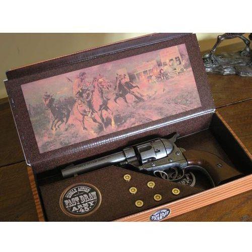 Colt peace maker z 1873 drewno + naboje (k1062-1wp) marki Hiszpania