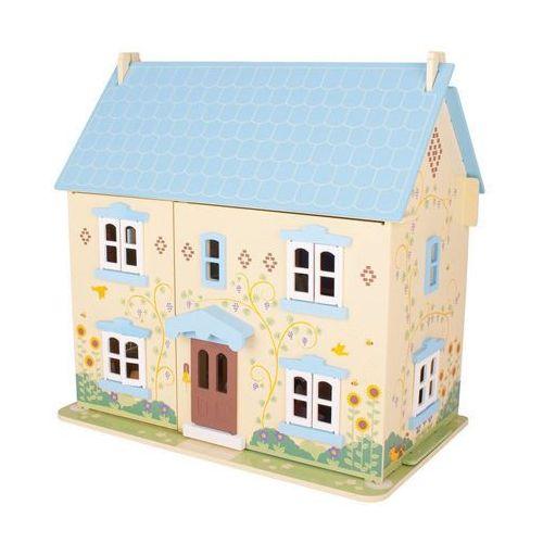 Drewniany domek dla lalek - słoneczny domek marki Bigjigs toys