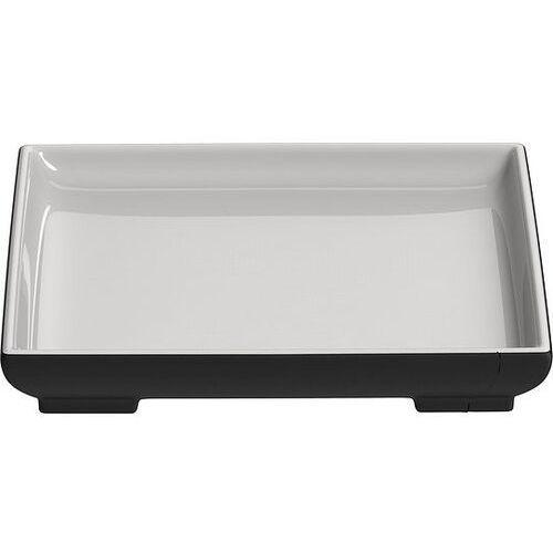 Magisso Półmisek kwadratowy mały white line naturally cooling ceramics