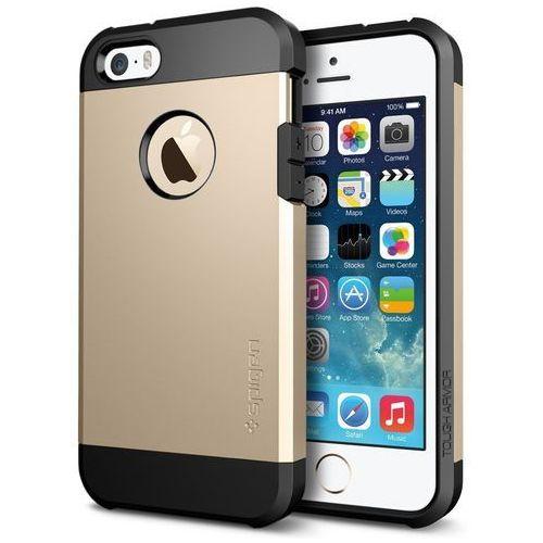 etui tough armor gold do iphone 5/5s (tough armor gold 5) darmowy odbiór w 21 miastach! marki Spigen sgp
