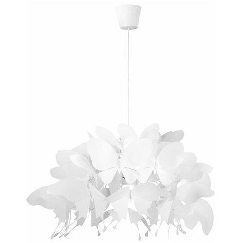 LAMPA wisząca FARFALLA LP-3439/1P white Light Prestige dekoracyjna OPRAWA do pokoju dziecięcego zwis motyle białe (5907796367490)