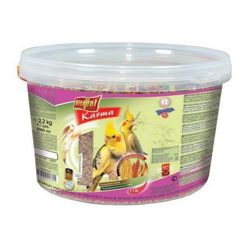 Vitapol Pokarm dla nimfy wiaderko 3L / 2,2kg [2261] z kategorii pokarmy dla ptaków