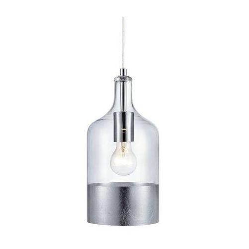 Markslojd Lampa wisząca bryant pendant clear/silver 106791 - – rabat w koszyku (7330024566613)