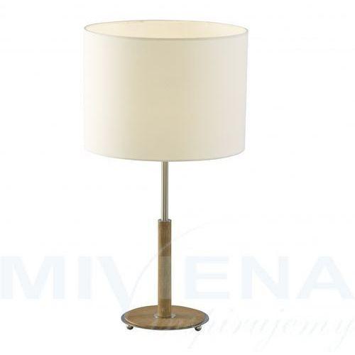Nevada lampa stołowa 1 chrom dąb marki Searchlight