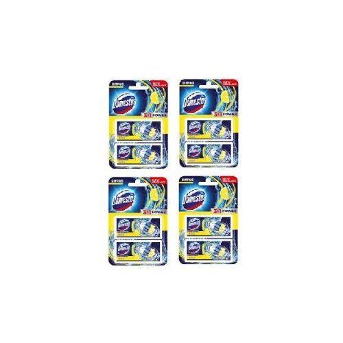 3w1 zapas kostka wc citrus 4x2sztuki marki Domestos