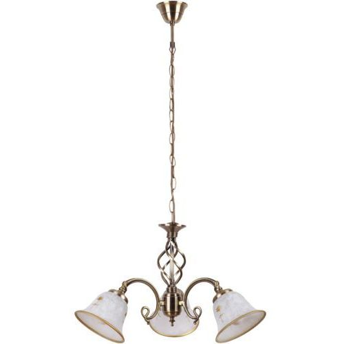 Lampa wisząca art flower 3x40w e14 brąz 7173 marki Rabalux
