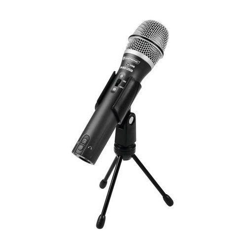 Mikrofon usb , rodzaj transmisji danych: przewodowa marki Omnitronic