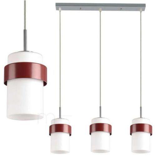 Light prestige Lampa wisząca lp-866/3p miele bordo + darmowy transport! (5907796362853)