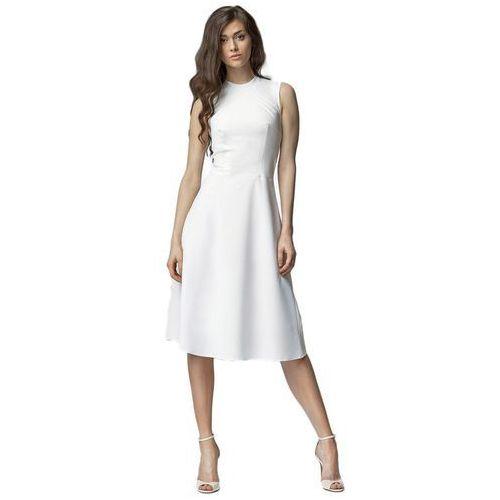 Sukienka midi - ecru - s62, Nife