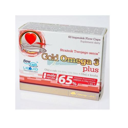 Olimp gold omega-3 plus x 60 kaps (5901330032073)
