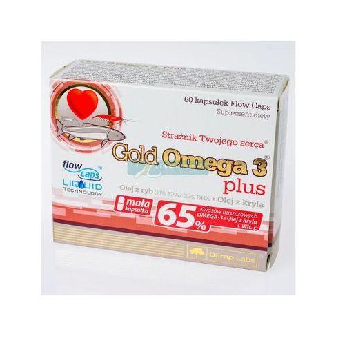 Olimp gold omega-3 plus x 60 kaps, produkt z kategorii- Suplementy ciążowe