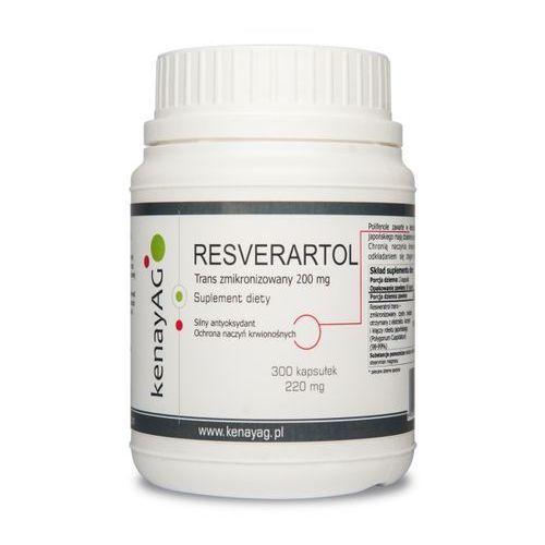 Resveratrol zmikronizowany 200mg – 300kaps – Kenay