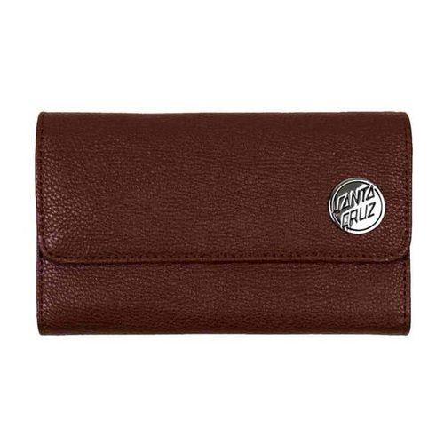 Portwel - slick wallet brown (brown) rozmiar: os marki Santa cruz