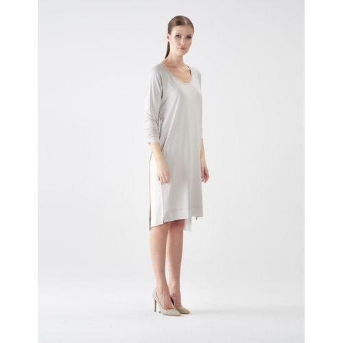 Sukienka su133 (kolor: cielisty, rozmiar: uniwersalny) marki Vzoor
