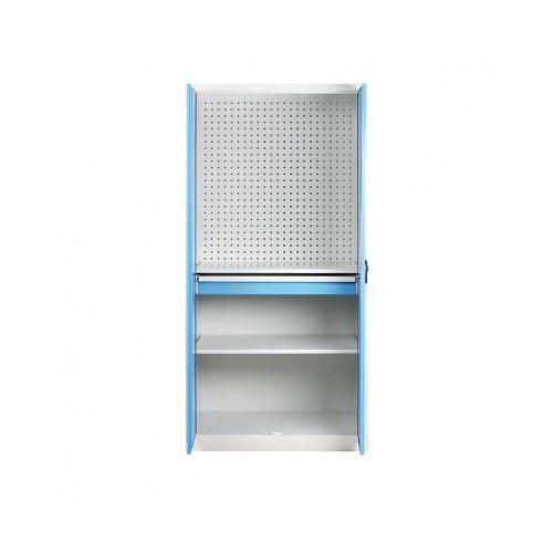 Kovos Szafa warsztatowa z perforowaną ścianką tylną, 2 półki, 1 szuflada