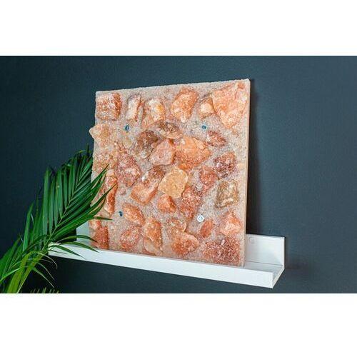 Panel solny do sauny saltino różowa 40x40